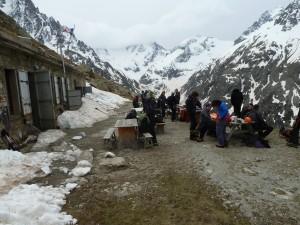 Retour du col des avalanches